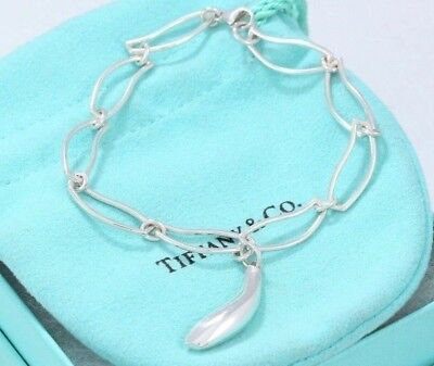 dfa8cfe43 LIMITED Tiffany & Co Sterling Silver Frank Gehry Fish Charm Link 7