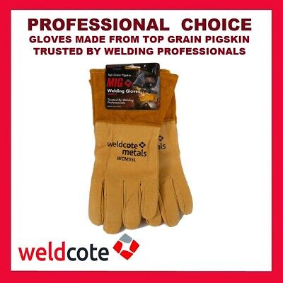 Weldcote metals Mig Welding Gloves WCM55, Professional Choice of Size