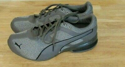hot sales b3f2e a7e7c PUMA Tazon 6 Heather Fracture Softfoam Running Shoe Lifestyle Gray Size 11  Men s