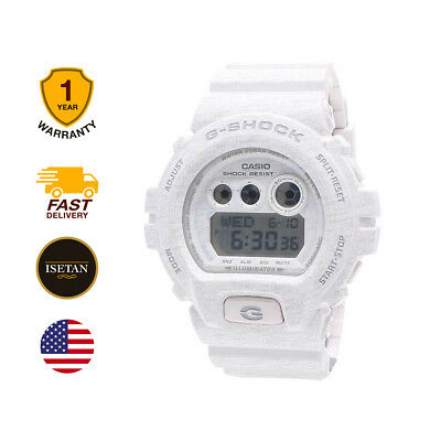Casio G-SHOCK Mens Digital sport White Band GD-X6900HT-7D