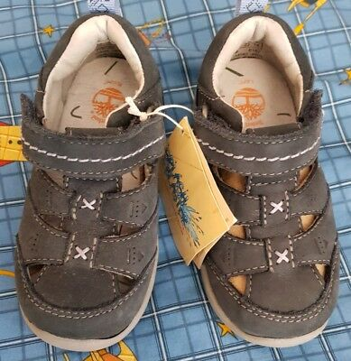 Timberland Genuine Leather Boys Shoes Kids Youth Size US 6.5 / UK 6 / EUR 23 NWT