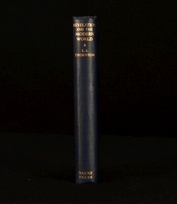 1950 Revelation and the Modern World L. S. Thornton First Edition