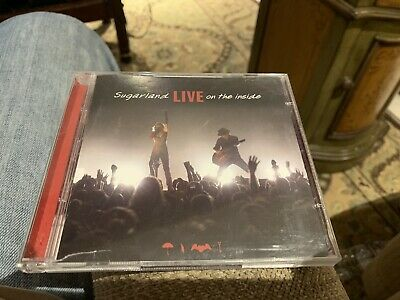 Sugarland: Live On The Inside Cd/dvd Set/2009/mercury/out Of Print/in Vg+!!!!!!!