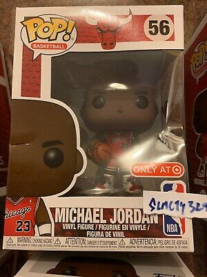 New Funko Pop! Michael Jordan *Target Exclusive* #23 Bulls NBA IN HAND DAMAGED