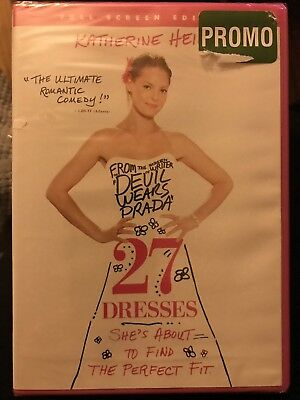27 DRESSES Full Screen Edition DVD FACTORY SEALED New