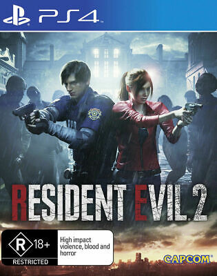 RESIDENT EVIL 2 - Playstation 4 PS4 - NEW Sealed AU GAME