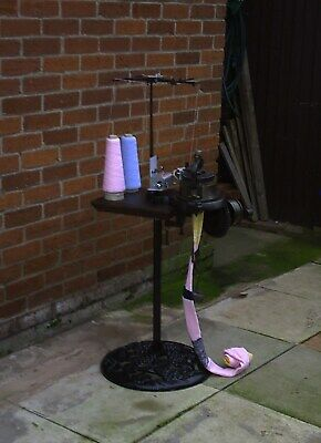 Sock Machine stand, D I Y. make your own. Step by Step CD. I.P. in place.
