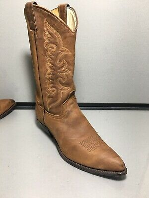 5cc780109ad4 VINTAGE WOMEN S ABILENE Tall Genuine Leather Western Cowboy Boots 9 ...