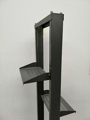 """- 19"""" Open Rack frame with 2x trays"""
