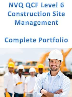 NVQ Diploma Level 6 Construction Site Management