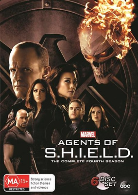Marvel's Agents Of S.H.I.E.L.D Shield : Season 4 : NEW DVD