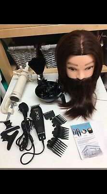 Chris & Sons Male Mannequin Trading Head, Clippers & Accessories