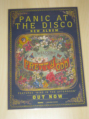 Panic Panic! At The Disco - Pretty Odd  -  Laminated Promotional  Poster