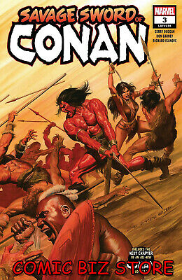 Savage Sword Of Conan #3 (2019) 1St Printing Alex Ross Main Cover Marvel Comics