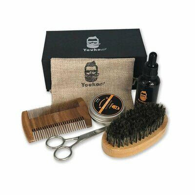 Beard Grooming & Trimming Kit Facial Styling Comb Tool Mens Whisker Care