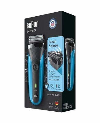 Braun Series 3 310s Rechargeable Wet Dry Electric Shaver