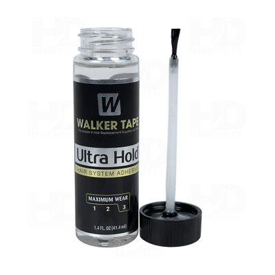 Walker Tape Ultra Hold Lace Wig Glue 1.4 oz Lace Glue With Brush