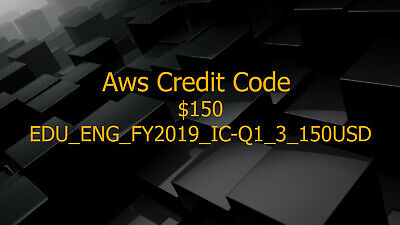 Aws Credit $150 Promo Code New Event Exp 2020
