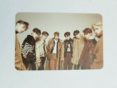 "K-POP ATEEZ Mini Album ""TREASURE EP 2 : Zero To One"" Official ATEEZ Photocard"
