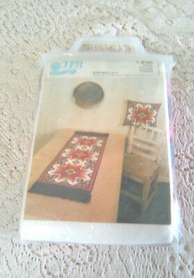 TFH GURO PILLOW NEEDLEPOINT KIT #T-8186 (Vintage, Made in Norway)