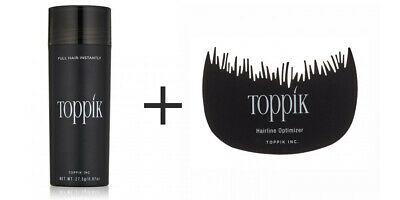 TOPPIK HAIR BUILD FIBERS 27,5g + HAIR OPTIMIZER - OFFERTA LANCIO!