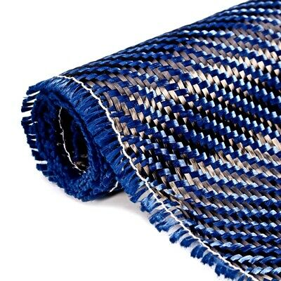 3K 200gsm Blue Carbon Fiber Cloth Setting Fabric Industrial Material Carbon Fibe