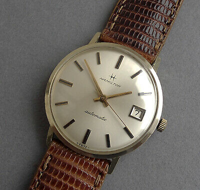 HAMILTON 14K Solid Gold  Gents Vintage Automatic Watch c1965