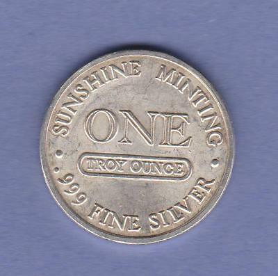 Silver Eagle, Sunshine Minting, One Troy Ounce .999 Fine Silver Tx - 112