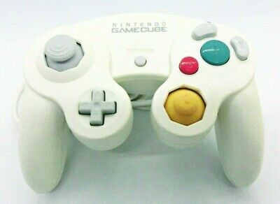 Used AIR SHIP TRACK OFFICIAL GC Nintendo GameCube WHITE Wii Controller JAPAN