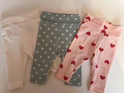 H&M Baby Girl Leggings 1-2 Months BNWOT