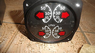 NEW 4 in 1 fuel gauge with plugs for ZLIN 142 LUN 1639