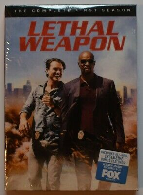 Lethal Weapon: The Complete First Season 1 DVD 2017