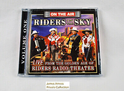 "James Arness Gunsmoke Marshal Dillon Riders in the Sky ""On The Air' Vol 1  CD"
