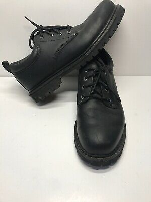 7a9d1c18f10 SKECHERS TOM CATS Casual Work Shoes - Men s Size 10 Black Leather ...
