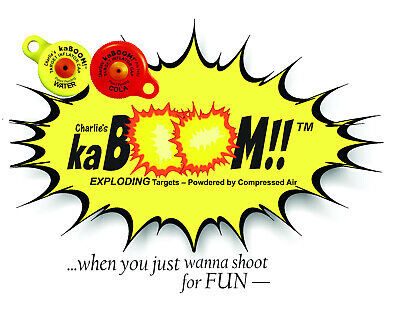 10-Pack Charlie/'s kaBOOM COLA Caps for Reactive Target Fun!