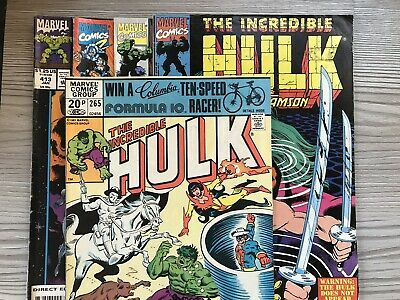 6 The Incredible Hulk Marvel Comics , Include Vintage And Key Issues
