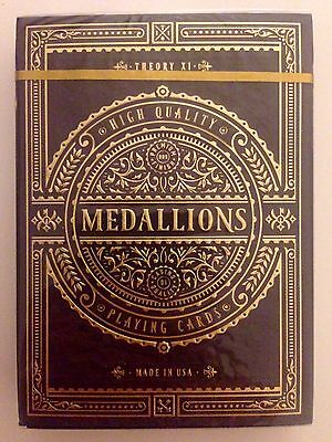 Medallion Playing Cards by Theory 11 (New and Sealed)