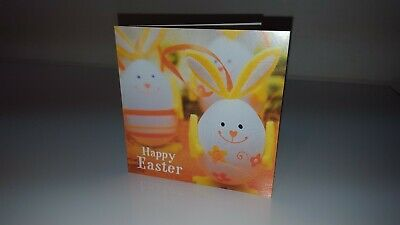 Traditional Cute Happy Easter Greeting Card - Various Designs Text + Envelope