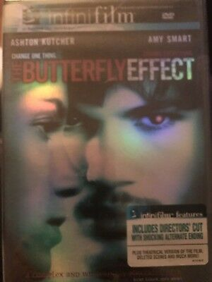 THE BUTTERFLY EFFECT Widescreen  (INFINIFILM) Directors Cut DVD FACTORY SEALED