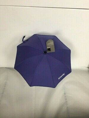 Icandy Peach Parasol with Clamp in Palm of Violet Colour(New)