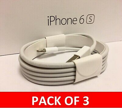 Genuine Charging Cable Charger Lead for Apple iPhone 7, 7plus, 6, 6plus 5, ipad