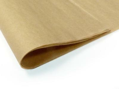 brown tissue kraft wrapping paper~12 sheets~20 GSM gifts_100% recycled Natural