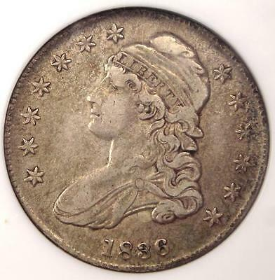 1836 Capped Bust Half Dollar 50C O-122 - NGC XF45 (EF45) - Rare Certified Coin