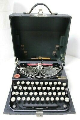 REMINGTON Portable - 1926 - Schreibmaschine typewriter antik vintage