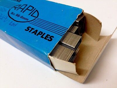 No 66 8mm genuine staples x5000 For use with Rapid A100 Electric Stapler
