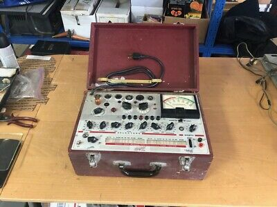 Vintage Hickok 600A Dynamic Mutural Conductance Tube Tester Serviced!