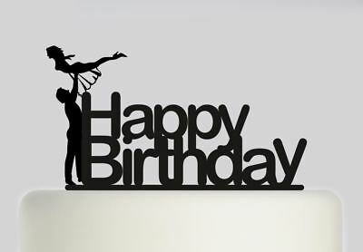 Dancing Happy Birthday Acrylic Cake topper .204