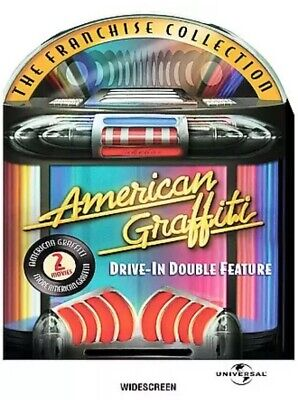 American Graffiti DVD New Drive-In Double Feature Ron Howard Harrison Ford