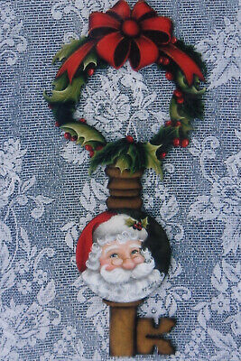 "Wendy Fahey tole painting pattern ""Holly Jolly Christmas"""