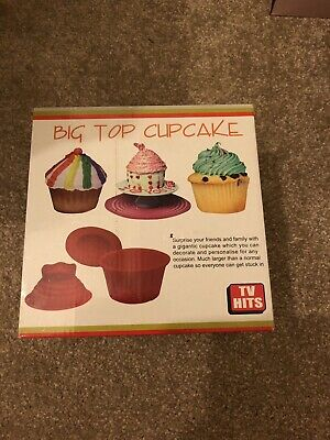 Big Top Cupcake Mould Brand New In Box